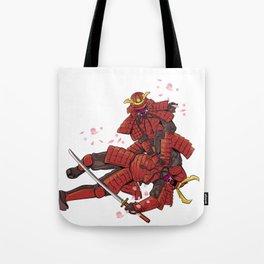 Samurai Jiu-Jitsu Tote Bag
