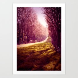 Tendre Printemps Art Print