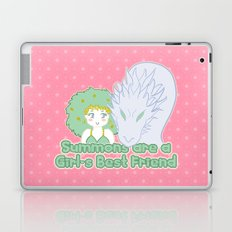 Summons are a Girl's Best Friend Laptop & iPad Skin