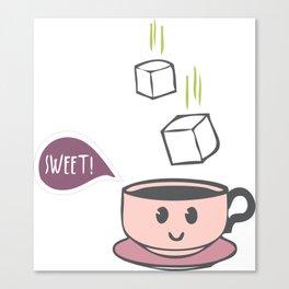 Sweet tea, sweetie! Canvas Print