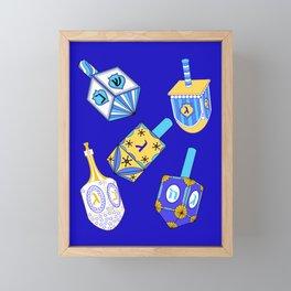 Dreidel, Dreidel, Dreidel Framed Mini Art Print