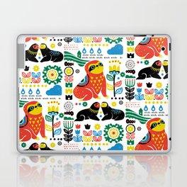 Scandinavian Sloths Laptop & iPad Skin