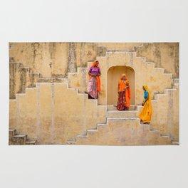 Amber Stepwell, Rajasthan, India Rug