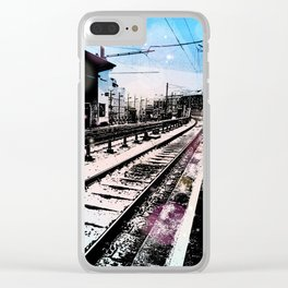 Station dream Clear iPhone Case