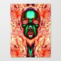 meme Canvas Prints featuring MEME by Laertis Art