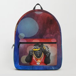 Rapper of the apes Backpack