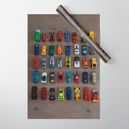 1980's Toy Cars Wrapping Paper