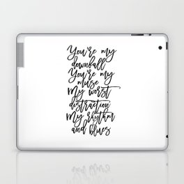 Love Sign,I Love You,Gift For Her,Wall Art,Gift For Him,Song Lyrics,Quote Prints,Husband Gift Laptop & iPad Skin