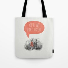Walking Dead Love Story Tote Bag
