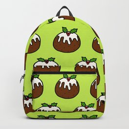 Christmas Pudding Pattern Backpack