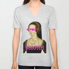 You Know My Name Unisex V-Neck