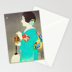 Mushikago - Insect Cage - Japanese Art Stationery Cards