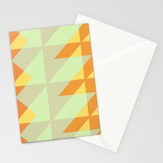 Canary Geometry  Stationery Cards