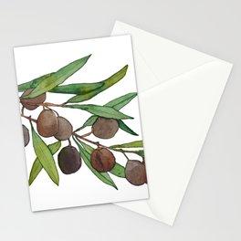 Olive leaf Stationery Cards