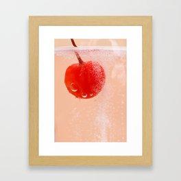 Cherry Soda Framed Art Print