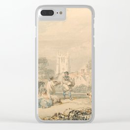 "J.M.W. Turner ""Autumn Sowing of the Grain"" Clear iPhone Case"