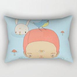 COME BACK HOME Rectangular Pillow