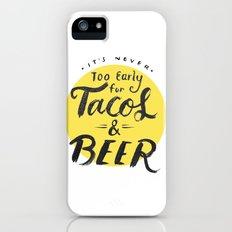 Tacos & Beer iPhone (5, 5s) Slim Case