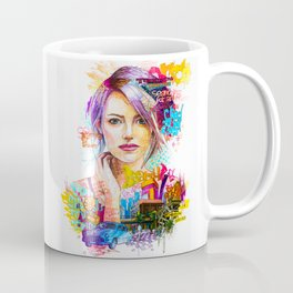 Pensive girl Coffee Mug