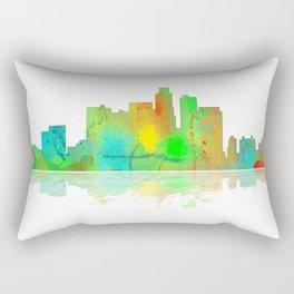 Skyline Los Angeles Rectangular Pillow