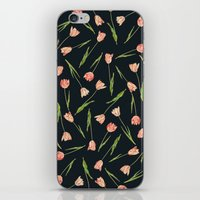 tulips iPhone & iPod Skins featuring Tulips by Heart of Hearts Designs