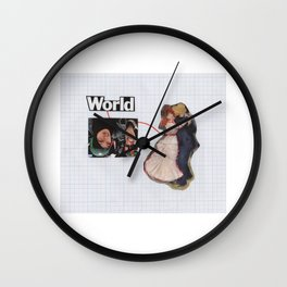 Connection To one Another Wall Clock