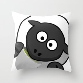 Cartoon Cute Sheep Throw Pillow
