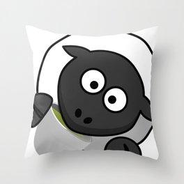 Cartoon Cute Sheep Throw Pillow