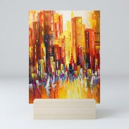 Sunny Los Angeles Mini Art Print