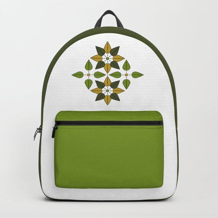 Aoba, Green Leaves Backpack
