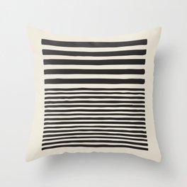 grey geometric print, Minimalist print, scandi print, geometric wall art, minimalist art, mid centur Throw Pillow
