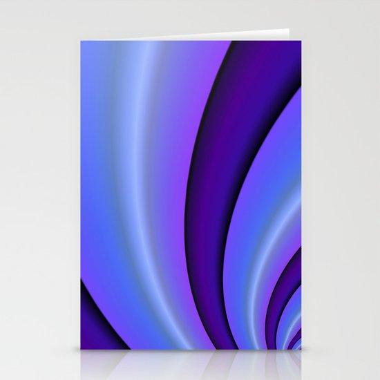 Purple Twist Stationery Cards