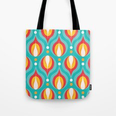 Colorful Dewdrops Tote Bag
