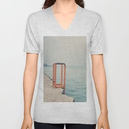 the orange steps ... Unisex V-Neck