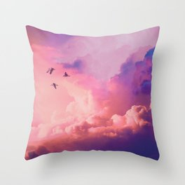 Oil of angels Throw Pillow