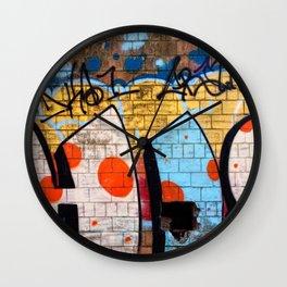 Pepper Distillery Graffiti HIC Wall Clock