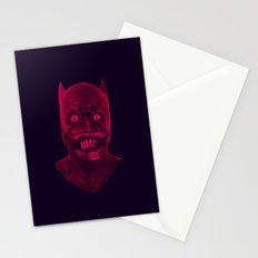 UNDEAD BAT MAN Stationery Cards