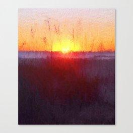 Florida Beach Scene #1 Canvas Print