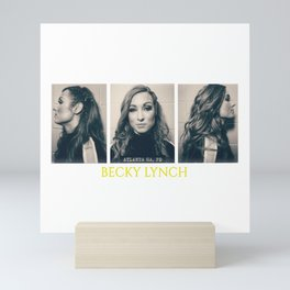 The Man BeckyLynch MugshotWwe Mini Art Print