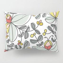 Watercolor Floral Pillow Sham