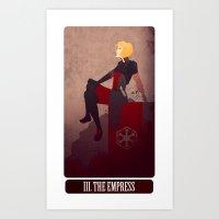 tarot - the empress. Art Print
