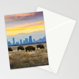 City Buffalo Stationery Cards