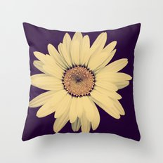 Half Crazy Throw Pillow