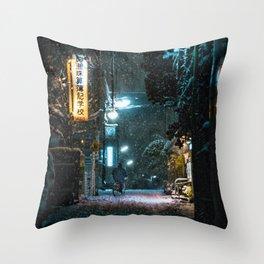 Setagaya Bike Home Throw Pillow
