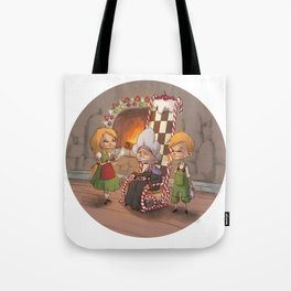 Hansel et gretel Tote Bag