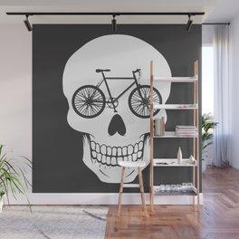 Bikehead Wall Mural