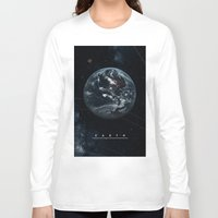 earth Long Sleeve T-shirts featuring EARTH  by Alexander Pohl