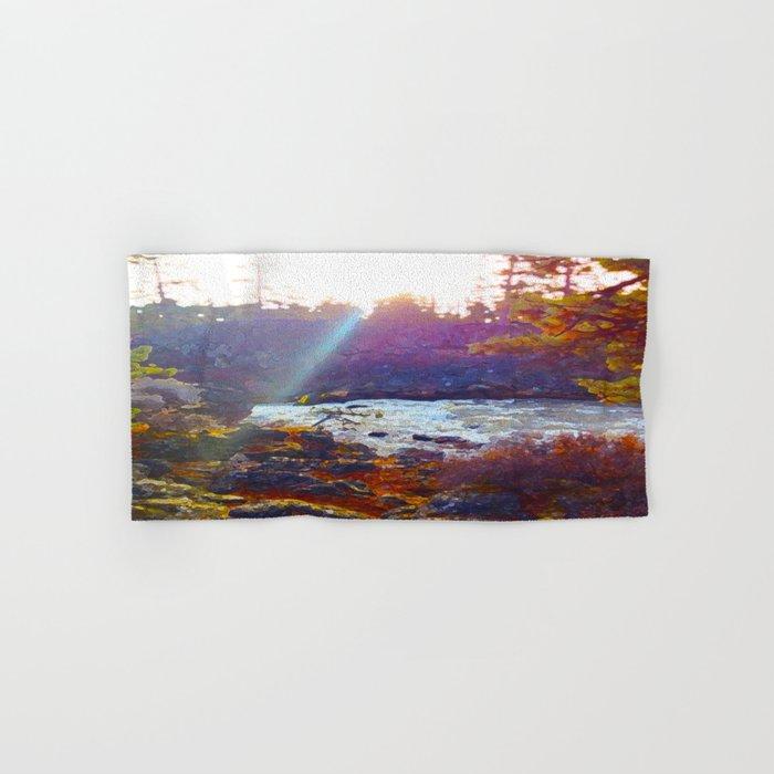 Benham Falls Hand & Bath Towel