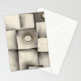 Quantum plate Stationery Cards