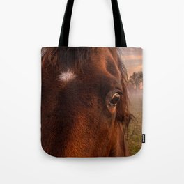 horses eye Tote Bag